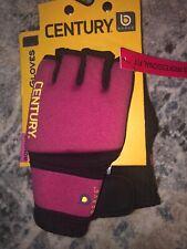 CENTURY Brave Women's Training Workout Gel Gloves Pink