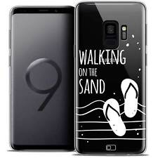 """Coque Crystal Gel Pour Samsung Galaxy S9 (5.8"""") Souple Summer Walking on the San"""