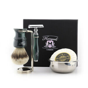 Men Shaving Gift Set Luxury Clean & Head Shave Kit for Barber Salon