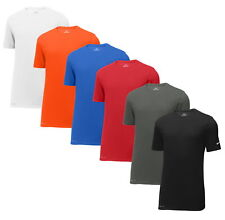 Nike Mens Dri-FIT Cotton Poly Tee Shirt Short Sleeve Gym Workout Athletic - New