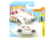 Hotwheels Volkswagen Beetle Checkmate White Short Card 1 64 Scale Sealed New