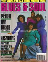BLUES & SOUL MAGAZINE - PERRI, TINA TURNER, PASADENAS - JUL 90