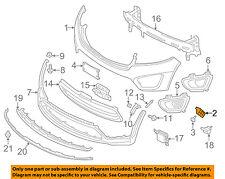 KIA OEM 16-17 Sorento Front Bumper-Bumper Cover Mount Bracket Left 86513C6000