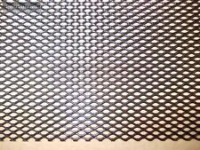UNIVERSAL BLACK Alu 150cm x 30cm GRILLE GRILL MESH VENT Gitter 150 30 cm steel