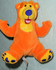 """Bear In The Big Blue House Baby Rattle Stuffed Animal Plush Toy 5"""""""