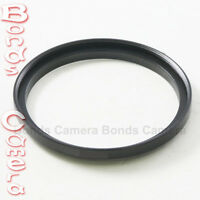 Metal 49mm-55mm 49-55 mm 49 to 55 Step-Up Lens Filter Ring Adapter Black Accesso