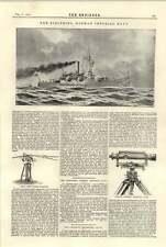 1894 Canal Rope Towing Standard Siegfried German Imperial Navy Gradient Telemete