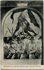 1932 Redipuglia Cimitero Militare Invitti III Armata comm. Dante FP B/N VG