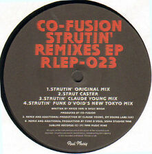 CO-FUSION - Strutin' Remixes EP - Reel Musiq