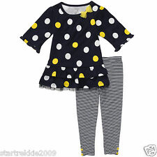 Carter's Infant Girl Dots & Stripes Tunic & Leggins Set.Size 24 Months. NWT