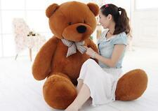 Huge Giant Plush Teddy Bear for Valentine's Day Stuffed Soft Cotton Toy 80-200CM