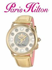 Women's Faux Leather Strap Luxury Watches with 12-Hour Dial