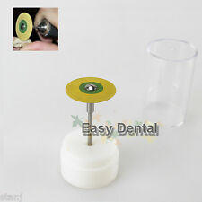 1 Dental HP Burs Drills Rubber Diamond Polisher for Zirconia Porcelain Teeth