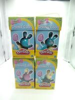 (4) Play Doh Easter Egg Hunt Eggs 10 Per Pack Filled With Play Doh Compound
