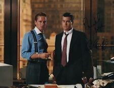 Wall Street (Charlie Sheen, & Michael Douglas) signed 11X14 photo
