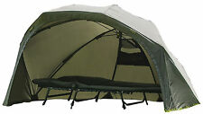 Wychwood HD MHR Max Headroom Brolly Bivvy Shelter Carp Fishing System Green