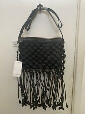 Ulla Johnson Fringe  Crochet Crossbody/Shoulder Bag $695 NWT