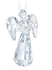 New Swarovski Clear Crystal Christmas Ornament ANGEL ORNAMENT 2018 5397776