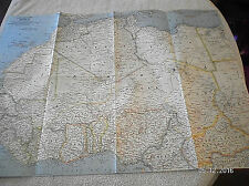1962 Vintage Map Of North Western Africa National Geographic .