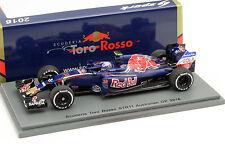 Max Verstappen Toro Rosso STR11 #33 Australien GP Formel 1 2016 1:43 Spark