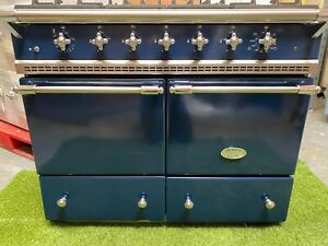 Lacanche Cluny Range Cooker Navy chrome kitchen appliance double oven