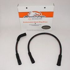 99-2008 Harley Touring electra glide screamin eagle 10mm BLACK spark plug wires