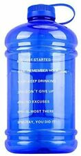Large Water Bottle 0.8 Gallon Jug Motivational 105OZ BPA Free Big Water Containe