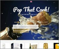CHAMPAGNE Website|Upto £319 A SALE|FREE Domain|FREE Hosting|FREE Traffic