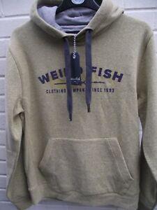 Weird Fish. Mustard Popover Hoodie Sweatshirt Jacket Top. Medium