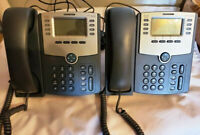 Set of 2 Cisco SPA508G 8-Line IP Phone with Display, PoE and PC Port