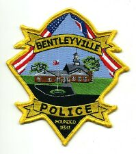 Bentleyville Ohio Police patch - OH sheriff