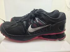 Nike Reax Run 6 Running Training Women Size 7.5 Black Pink 472647-002