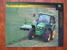 John Deere 5525 5425 5325 5225 Tractor Brochure