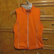 Women's Ralph Lauren L-RL active orange gray vest size S brand new NWT $99.50