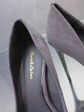 NEU 2017 Hohe Grau Metall High Heels Damen Sexy Classic Y31 Luxus Schuhe Pumps