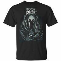 Marvel Moon Knight T-Shirt Star Night Tee Shirt Short Sleeve S-5XL