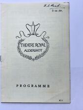 Jessie Matthews Pygmalion 1950 Theatre Programme