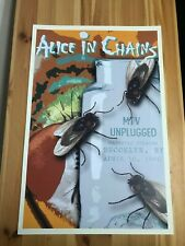Alice in Chains MTV Unplugged Concert Poster - Layne Staley Jar of Flies