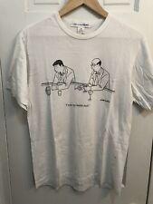 Comes Des Garcons White T Shirt Size M