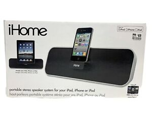 Ihome Portable Stereo Speakers For Ipad/iphone/ipod Model iD7
