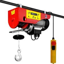 Giantz 510W Electric Hoist Winch 15m Rope Power Tool
