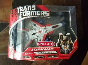 2007 Hasbro Transformers Movie Target Exclusive Voyager Starscream G1 Color NEW