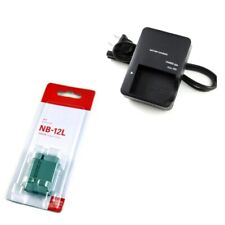 NB-12L NB12L Battery For Canon G1X MARK II N100 MINI X + CB-2LGE Charger