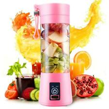 New Arrival Portable Home USB Rechargeable 4-Blade Electric Fruit Extractor Juic