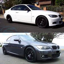 "GTC Wheels GT-CX 19"" Staggered Matte Black BMW E9X M3 / 1M Fitment"
