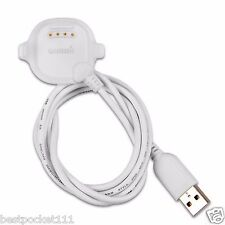 New Garmin Forerunner 10 / 15 Charging Data USB White Clip (010-11029-05)