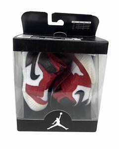 NEW Nike Air Jordan 1 Crib Bootie Satin Snake Chicago Infant Baby Red Size 3c