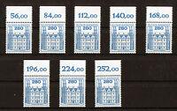 1 x Bund 1142 OR Burgen und Schlösser postfrisch 2,80 DM Oberrand BuS BRD 1982