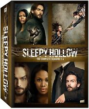 SLEEPY HOLLOW 1-4 2013-2017: COMPLETE Ichabod TV Season Series NEW UK DVD not US