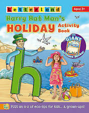 NEW LETTERLAND HARRY HAT MAN's HOLIDAY ACTIVITY- GIANT SUITCASE STICKER